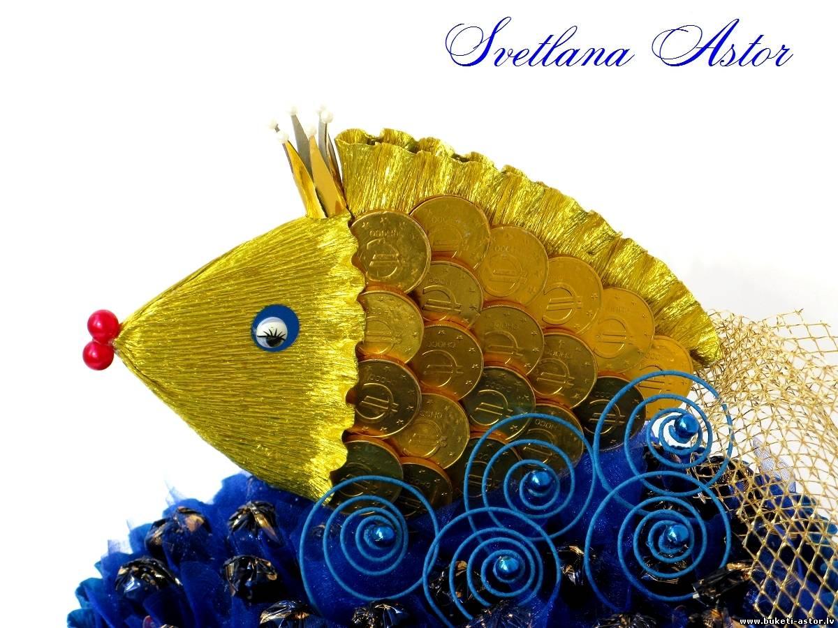 Стихи и поздравления к подарку золотая рыбка